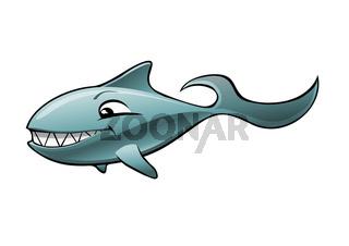 Lachender Fisch