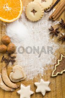 Küche vor Weihnachten