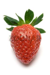 Gereifte Erdbeere
