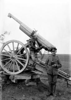 Geschütz im Ersten Weltkrieg
