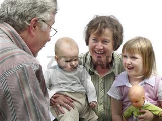 Oma, Opa und wir