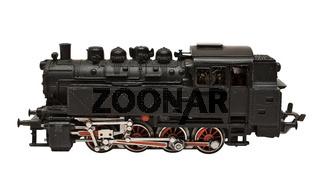 Modelleisenbahn (Seitenansicht)