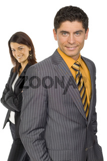 Two business persons