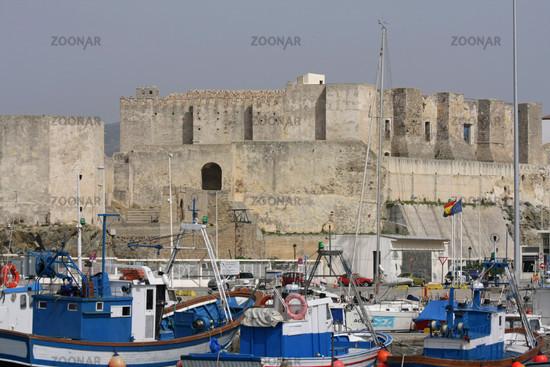 Castle in Tarifa. Andalusia