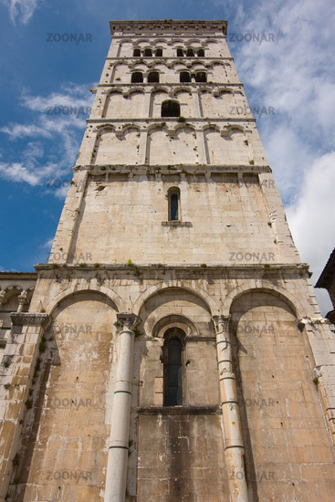 Church San Michele in Lucca, Tuscany