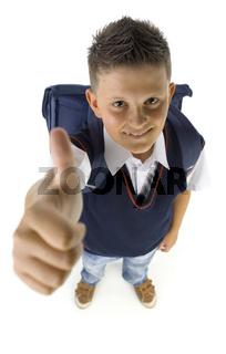 I'm ready to school
