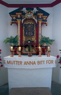 Altar in der Salmendinger Kapelle