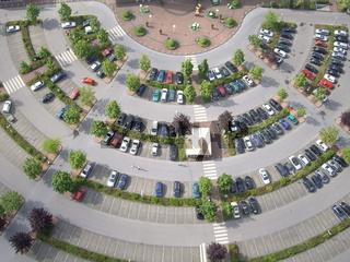 Luftbild Parkplatz Witten