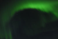 Northern Lights (Aurora borealis) in Gällivare, Lappland