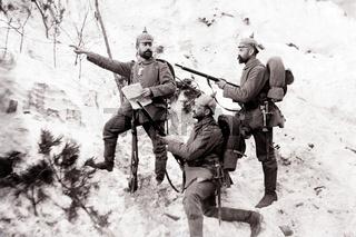 Erkundungstrupp Erster Weltkrieg