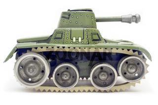 Panzer Seitenansicht