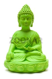 Gruener Buddha