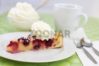 Kirsch- Puddingkuchen