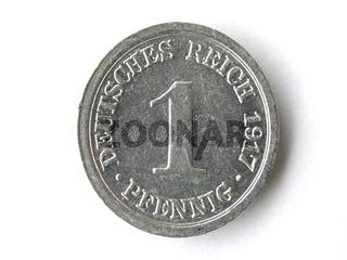 1 Pfennig Deutsches Reich | 1 Pfennig German Reich