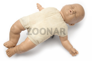 Schlafende Puppe