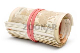 Liegendes Geldbuendel