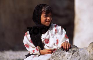 Mädchen im Oman