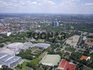 Luftbild Dortmund Skyline