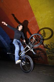BMX Flatland Monika Hinz