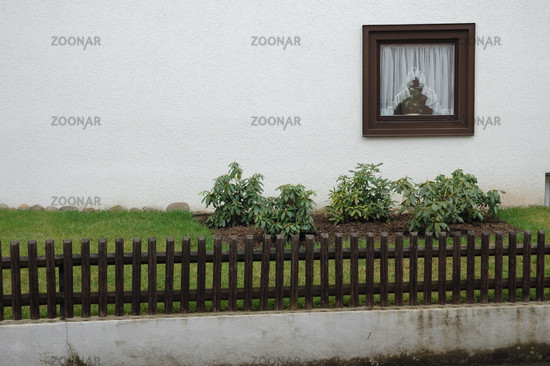 Photo Zaun Vor Grundstuck Fence In Front Of House Image 552814