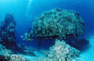 Taucher, Jacque Cousteau, Precontinent 2, Shaab Rhumi, Sudan