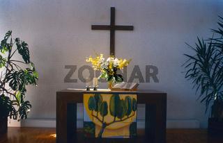 Altar in der Johanniskirche
