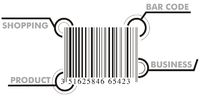 Bar code graphic with signs