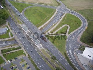 Kreuzung Dortmund Luftbild