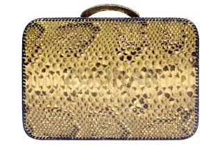 Koffer mit Beschneidungspfad