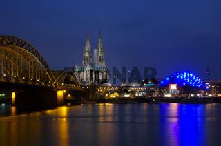 Kölner Rheinpanorama