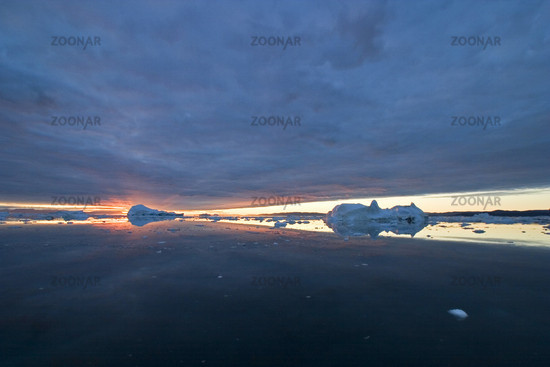 Midnight sun in Greenland, Midnight Sun in Greenland