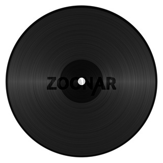 Abstracted Vinyl Record