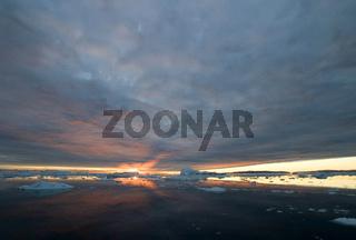 Mitternachtssonne in Groenland, Midnight Sun in Greenland