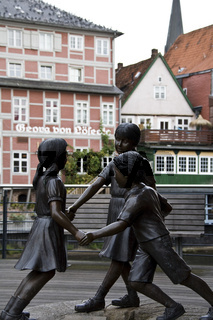 Bronzeplastik , Lüneburg