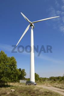 wind turbines, Windkraftanlage