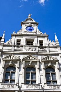 Leipzig Neues Rathaus Rathausuhr