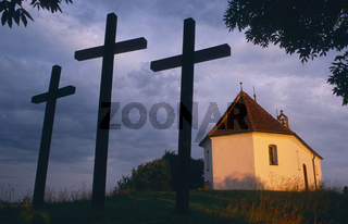 Drei Kreuze bei der Salmendinger Kapelle