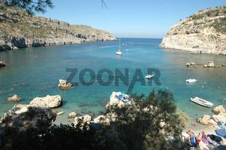 Anthony Quinn-Bucht auf Rhodos bei Faliraki