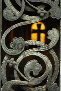 Kreuz im Licht, cemetery in Warsaw