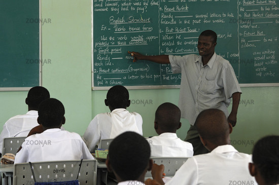 English lessons, Accra, Ghana