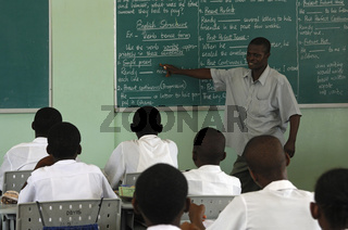 Englisch-Unterricht, Accra, Ghana