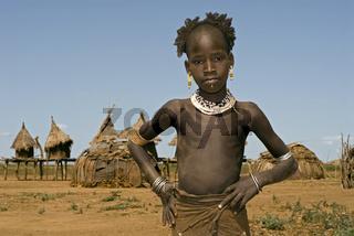 Galeb girl, Ethiopia