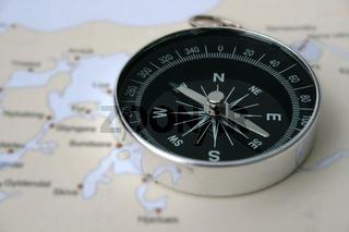 Kompass am Limfjord