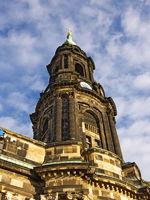 Kreuzkirche in Dresden (Sachsen)Kirche