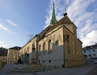 Kirche in der Altstadt von Feldkirch