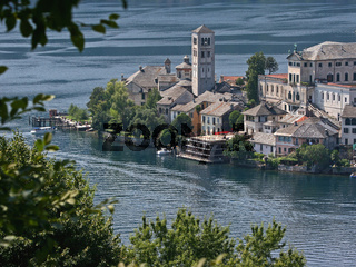 Lago d´Orta/ Isle of Orta with Cathedral