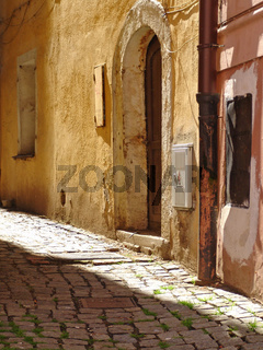 Enge Gasse in Cheb (Eger)
