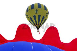 Sportballon Thunder & Colt AX8-105 S2 in der Luft