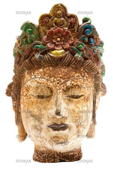 Antiker Frauenkopf