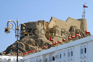Festung Muttrah, Muscat, Sultanat Oman